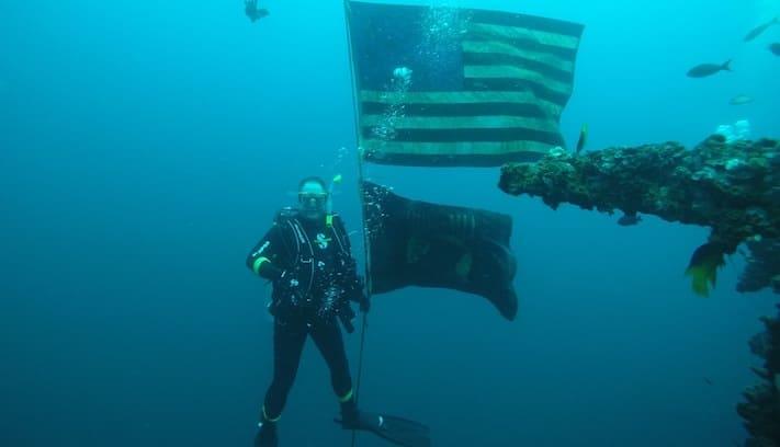 USS Oriskany - H2O Below
