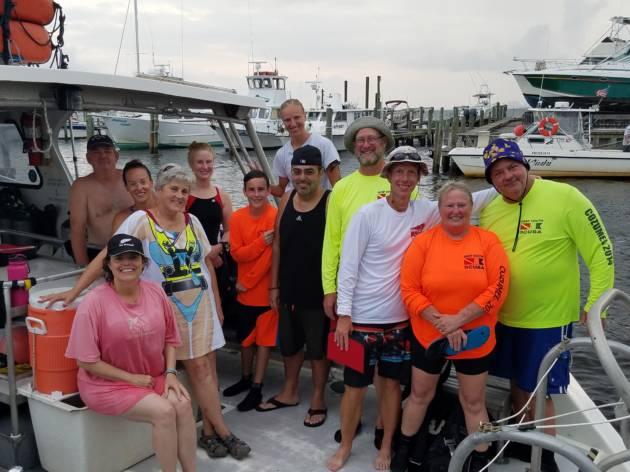 YDT 14&15, Tex Edwards & Joe Patti Barge August 12, 2017